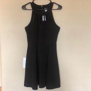Little Black Dress Cut Out Top